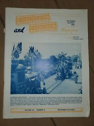 Engineers And Engines Magazine October 1976 Farm Tractors Machinery Steam Engine