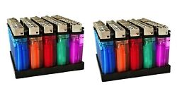 100 Cigarette Wholesale Disposable Lighters Pack With Display Stand 2 X 50 Count