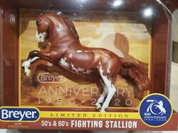 Breyer 70th Anniversary Traditional Fighting Stallion NIB