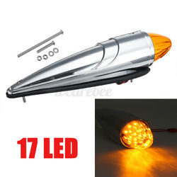 17 Led Universal Torpedo Cab Roof Top Marker Clearance Light For Peterbilt /