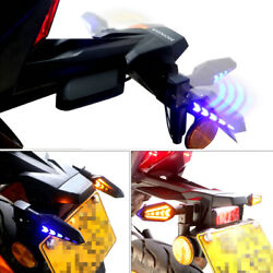 Front And Back Auto Flip Folding Signal Turn Light Lamp Dynamic Flowing Indicator