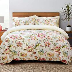 Softta King Size Luxury Bohemia Bedding Collection Vintage Lotus Floral And Leav