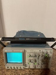 Tektronix 2245a 100 Mhz 4 Channel Dual Time Base Oscilloscope With Manual