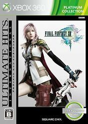 Xbox360 Final Fantasy Xiii International Ultimate Hits Platinum Collection Japan