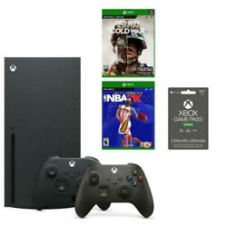 🔥microsoft Xbox Series X Gamestop System Bundle - In Hand Now Ready To Ship🔥