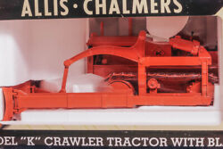 Allis Chalmers Model K Tractor Crawler With Blade Mib 116 Scale Spec Cast