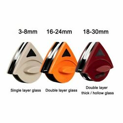 Magnetic Window Cleaner Double Side Glass Wiper Brush Household Cleaning Tool