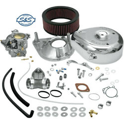 Sands Cycle 11-0408 Super E Carb Kit Harley Fxlr 1340 Low Rider Custom 1988