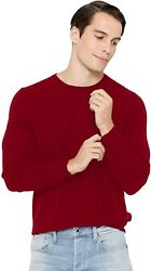 State Cashmere Menand039s Essential Crewneck Sweater 100 Pure Cashmere Classic Long