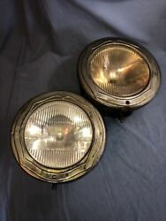 Buick Vintage Antique Guide Tilt Ray Drum Headlights Hot Rat Rod Working Cond.