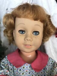 Chatty Cathy Doll Mattel Vintage - 1960's Talks Unmarked