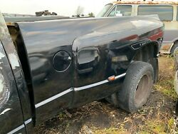 2003 2004 2005 Dodge Ram 3500 Bed 8and039 Foot Bed Dually Bed Black