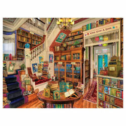 Readerand039s Paradise 1000 Piece Puzzle For Ages 12+ Free Expedited Shipping