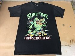 Very Rare 1984 Slime Time Ghostbusters Columbia Pictures Promo T-shirt Size M