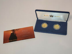 400th Anniversary Mayflower Voyage 2 Coin Gold Proof Set
