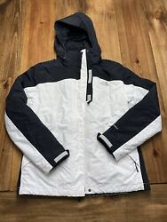 Northface Women's Jacket White Black Size M $50.00