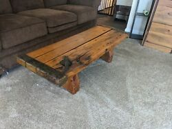 Wwii Liberty Ship Antique Hatch Table