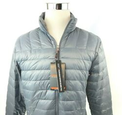 Hawke And Co Performance Down Pro Series Packable Puffer Coat Mens Small Nwt