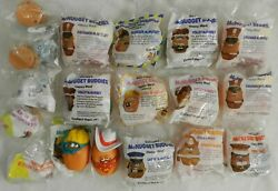 Mcdonalds Mcnugget Buddies And Changeables Happy Meal Toys 16 New Mip Lot Of 18