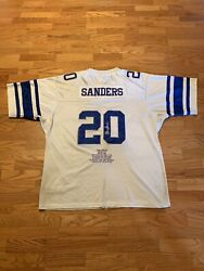 Throwback Mitchell And Ness Nfl Barry Sanders Detroit Lions Jersey Adult 60/4xl