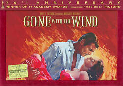 Gone With The Wind Dvd 2009 5-disc Set 70th Anniversary Ultimate... New