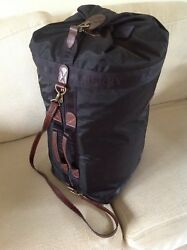Unique Mulberry Large Nautical Holdall In Mulberry Nylon Excellent Condition