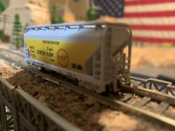 N Scale Atlas Afc 2 Bay Center Flow Acf Demonstrator Well Detailed New