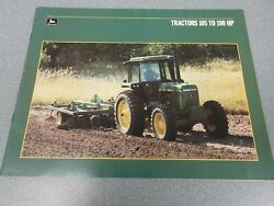 John Deere 4050 4250 4450 4650 4850 And Highcrops Tractor Sales Brochure 40 Pages