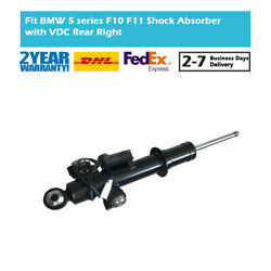 Rear Right Shock Absorber Edc For Bmw 5 Series F10 M5 Activehybrid 5 Xdrive 2wd