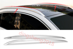 2pcs Stainless Steel Roof Rails Rack Rails Bars Carrier For Mercedes Benz Gle