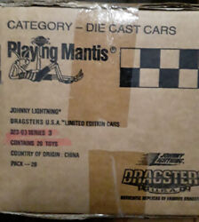 Factory Case Sealed Johnny Lightning Dragsters Usa Funny Car Series No.3 Pack 20