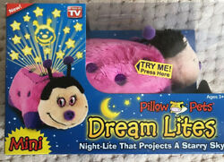 Hot Pink Lady Bug . Dream Lites . Mini Pillow Pets . As See on TV . New In Box