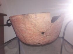 Fabulous Prehistoric Olla Pottery Pot Native American Antique Old Redware