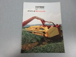 New Holland 499 Mower-conditioner Sales Brochure 8 Pages