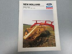 New Holland 57, 256, 258, 260 And 216 Rolabar Rakes Sales Brochure 12 Pages