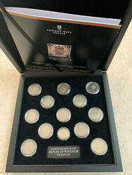 The House Of Windsor Shilling 13 Coins Set In A Box And With Brochure
