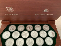 The Sydney 2000 Olympic Silver Coins Collection 16 Coins