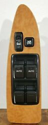 Toyota Avalon Driver Side Window And Lock Switch Assembly - Wood Grain Pbt-gf30