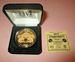 2006 Nfc Commemorative Official Game Coin - Chicago Bears Win - Only 2006 Made