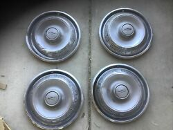 69 70 Ford Fairlane Torino Hubcaps Wheel Covers Center Caps Vintage Classic 14
