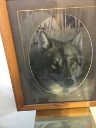 """Anheuser Busch The Gray Wolf Mirror Limited Edition N4570. 16""""x20"""""""