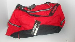 Marlboro Unlimited Duffle Bag Red Black Travel Gym Tote Gear With Backpack Side