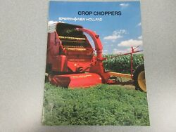 New Holland 38 Flail Choppers Sales Brochure 6 Pages