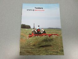 New Holland 158 And 162 Tedders Sales Brochure 8 Pages
