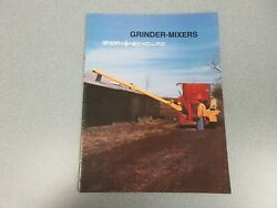 New Holland 353 And 355 Grinder-mixers Sales Brochure 16 Pages