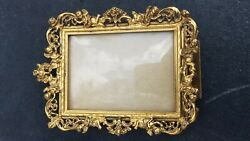 Antique Gold Gilt Picture Frame By Globe