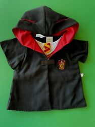 Build A Bear Harry Potter Gryffindor House Robe Uniform And Scarf - Nwt