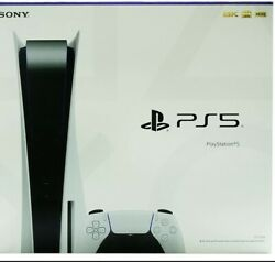Sony Ps5 Nib With Overnight Shipping Included Get It The Next Business Day