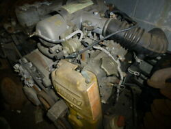 Fiat X1/9 Complete Fuel Injected Engine