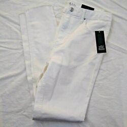 Wild Fable Womens High Rise Distressed Skinny Jeans White Size 16